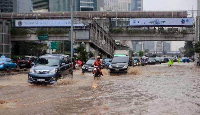 Enam Kawasan Ibukota Masih Tergenang Banjir