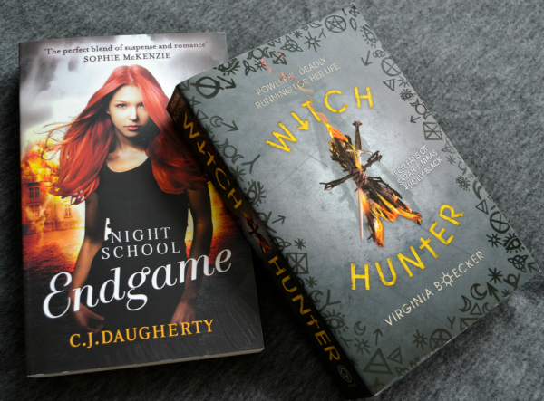 Endgame by C.J. Daugherty and The Witch Hunger by Virginia Boecker