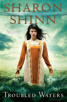troubled waters by sharon shinn book cover