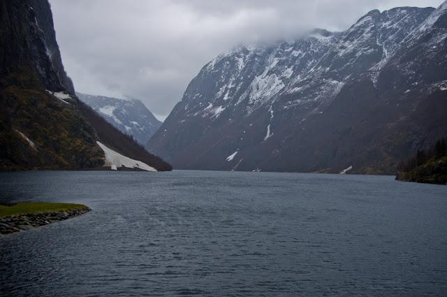 Норвежские фьорды.