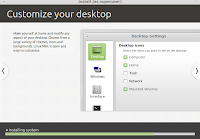 Customize your desktop easily in LinuxMint.