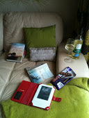 Books with Wine and Chocolate