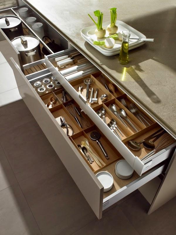 tiroirs diviseurs cuisines
