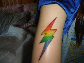 Rainbow Tattoo Design Photo Gallery - Rainbow Tattoo Ideas