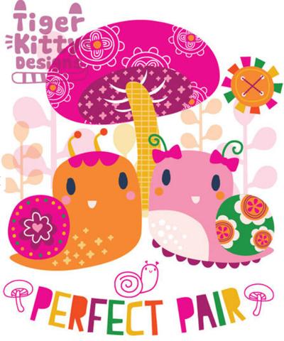 print & pattern: kids design - tiger kitty