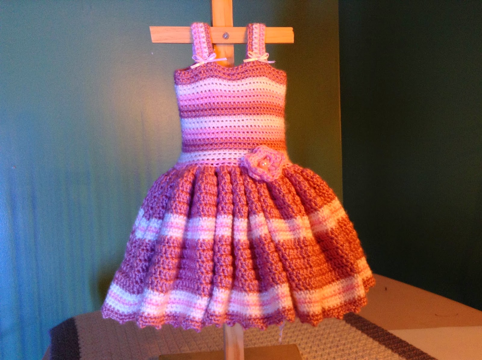 Crochet Stitches For Dresses : ... Baby Crochet Dress Patterns - Inspiration and Ideas: Free Patterns