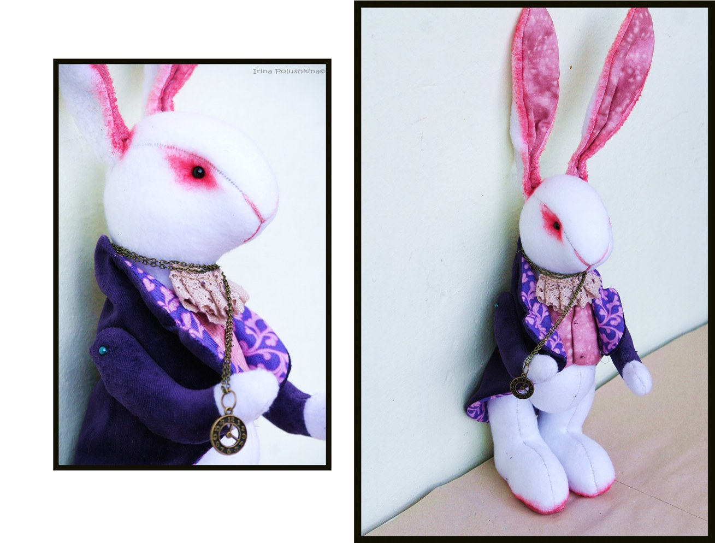 Кролик из алисы в стране чудес своими руками 499