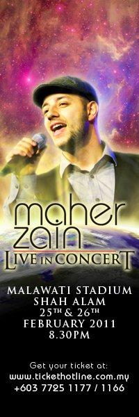 Maher Zain, Album Maher Zain, Maher Zain Konsert, Maher Zain Concert