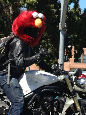 Elmo Motorcycle Helmet Cover