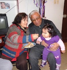 Thala y Audito en el primer cumpleaños de nieta Yanka