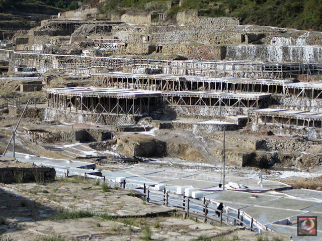 Valle Salado de Salinas de Añana (Alava)