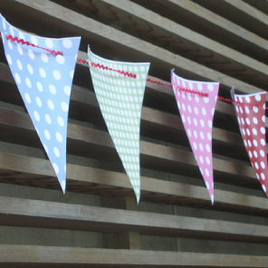 Bunting by Torie Jayne