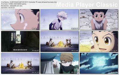 """Download Film / Anime Hunter x Hunter 2011 Episode 76 """"Pertemuan dan Pemahaman"""" Bahasa Indonesia"""