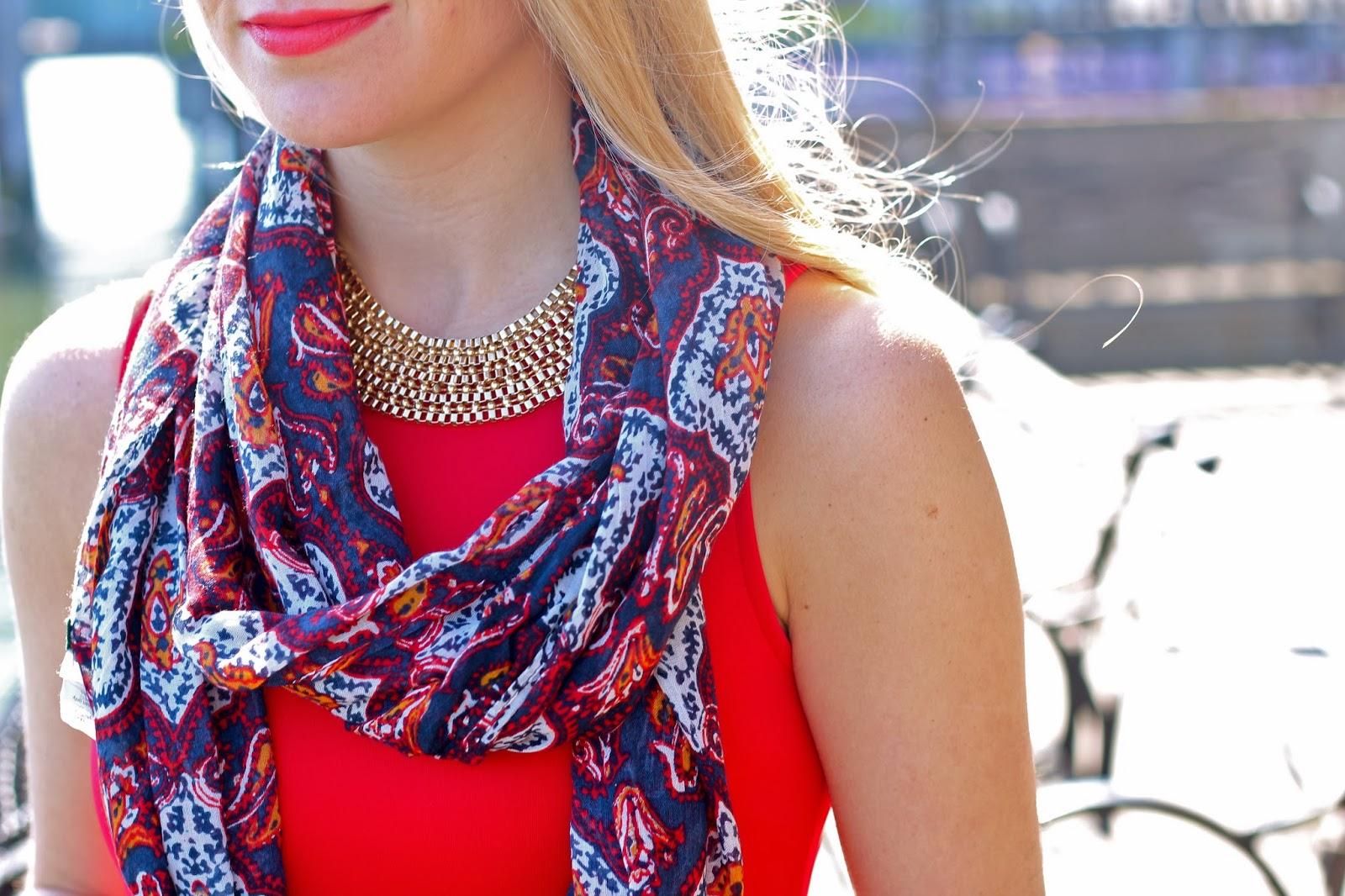 jcrew paisley scarf