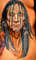 Tatuagem de Caboclos e Indios