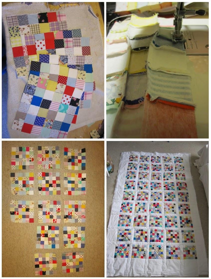 Colcha em patchwork - Como fazer passo a passo
