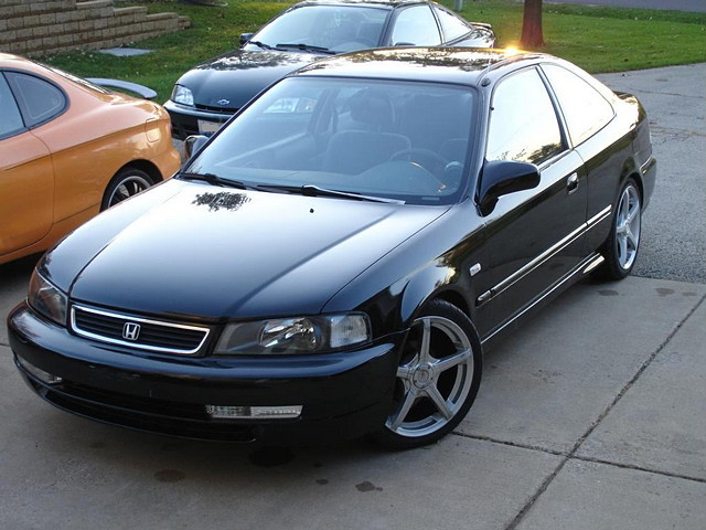Honda Civic VI, coupe, domani conversion