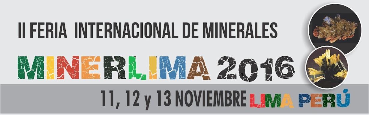 MINERLIMA - FERIA INTERNACIONAL DE MINERALES DE LIMA-PERÚ