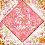 Debut Author Challenge 2013