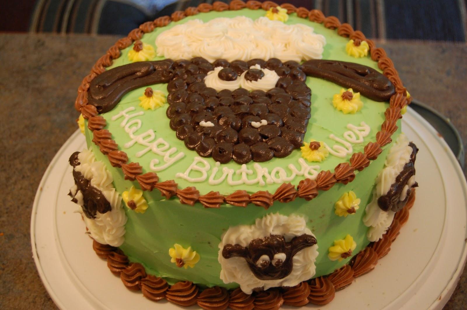 O Taste See Cakes Shaun The Sheep 2nd Birthday Cake