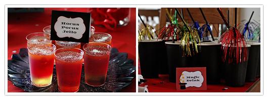 Hocus Pocus Jello & Magic Drink