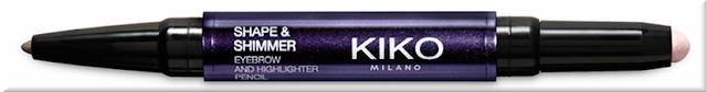 matita sopracciglia kiko midnight siren