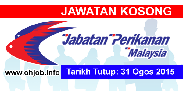 Jawatan Kerja Kosong Jabatan Perikanan Malaysia logo www.ohjob.info ogos 2015