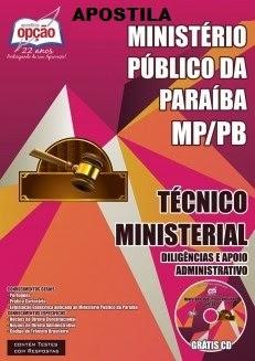 Apostila Concurso MP PB Têcnico Dirigência
