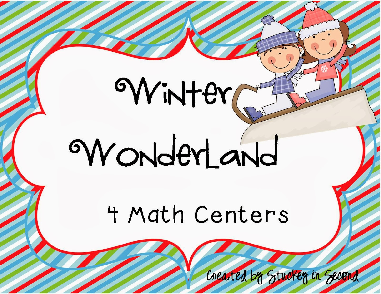 http://www.teacherspayteachers.com/Product/Winter-Wonderland-Math-Centers-mClass-Math-Practice-434992