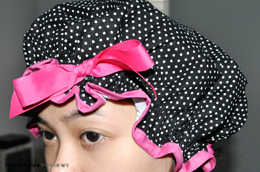 Retro Revival Shower Cap Dotsie