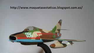 maqueta estática Dassault Super Mystère B.2 de Italeri 1:100