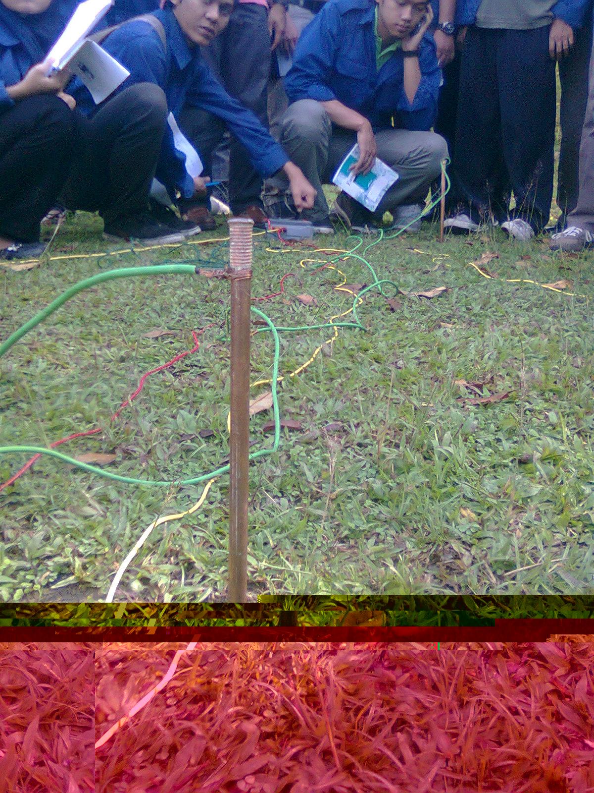 Final year project soil resistivity test for Soil resistivity