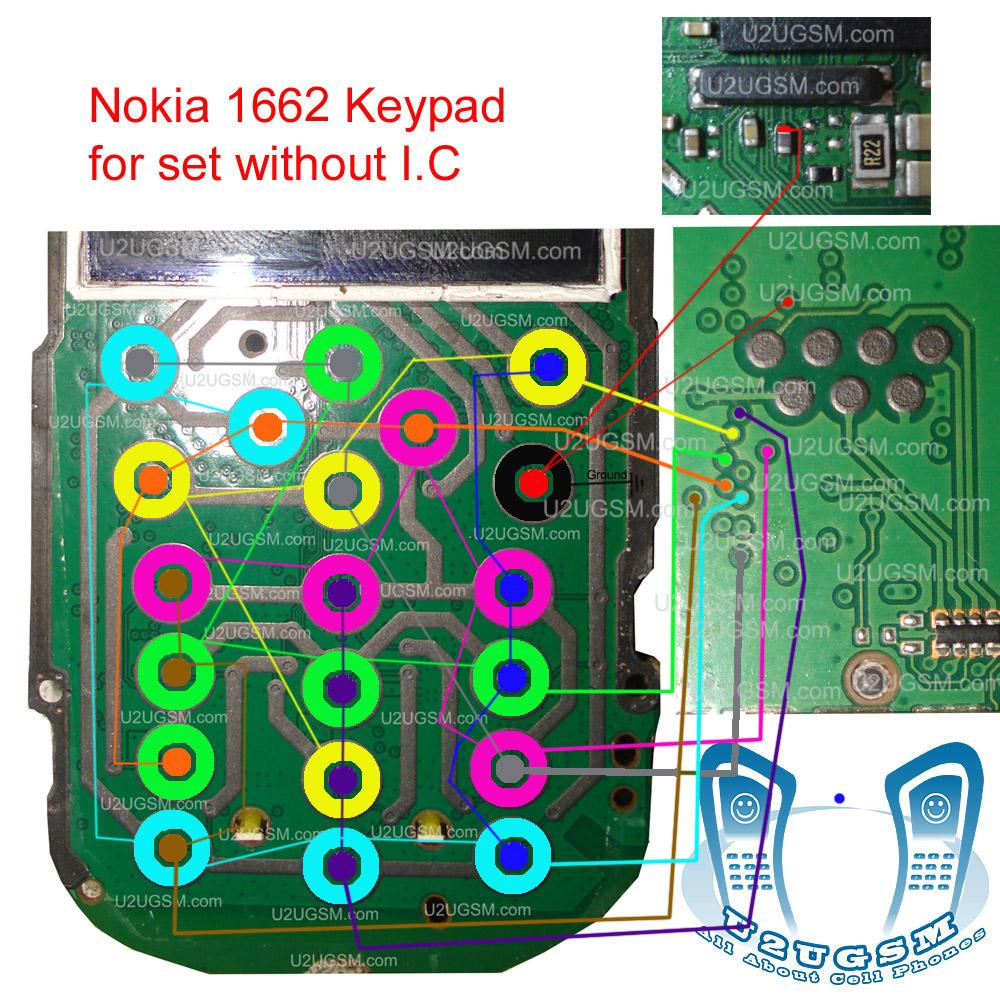 Nokia 1662 Keypad Solution