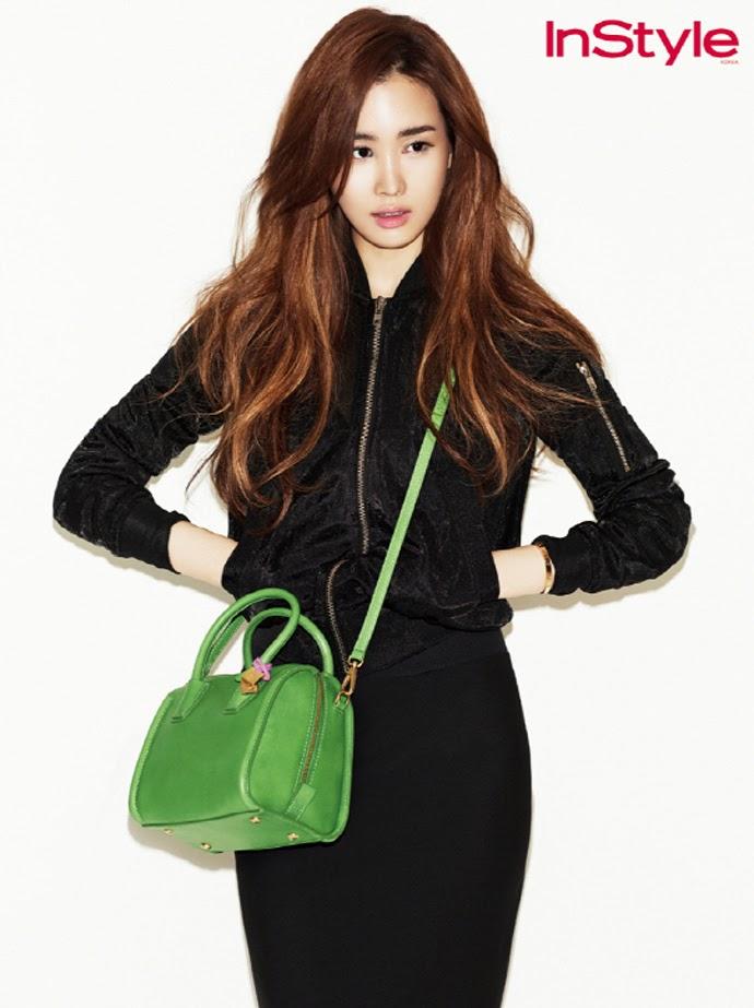 Lee Da Hae - InStyle Magazine April Issue 2014