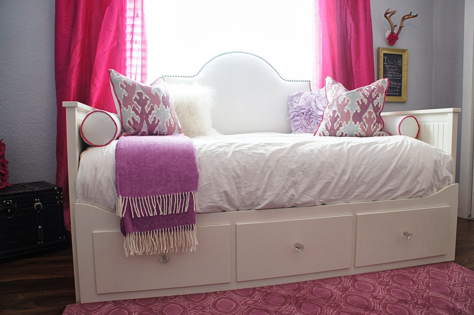 bed york daybed eclectic bedroom new refinished day ikea photo