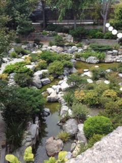Little tokyo james irvine japanese garden for Little japanese garden