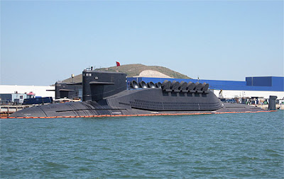 Type 094 missile submarines