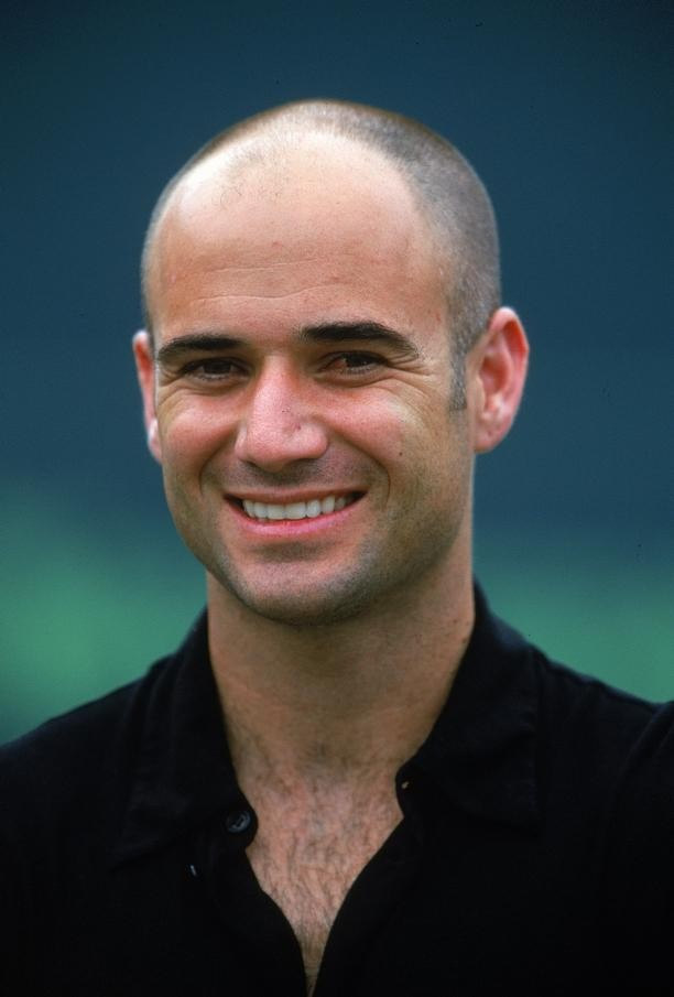 Tennis Players Of 2011 Andre Agassi
