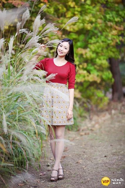 Girl xinh đẹp cùng mùa thu