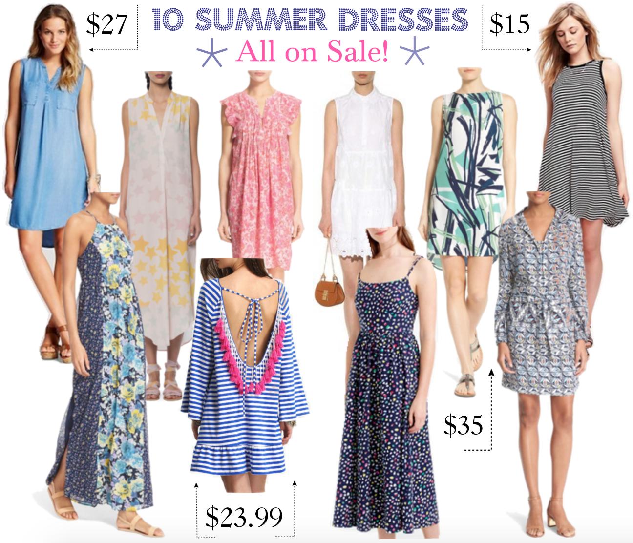 10 Summer Dresses