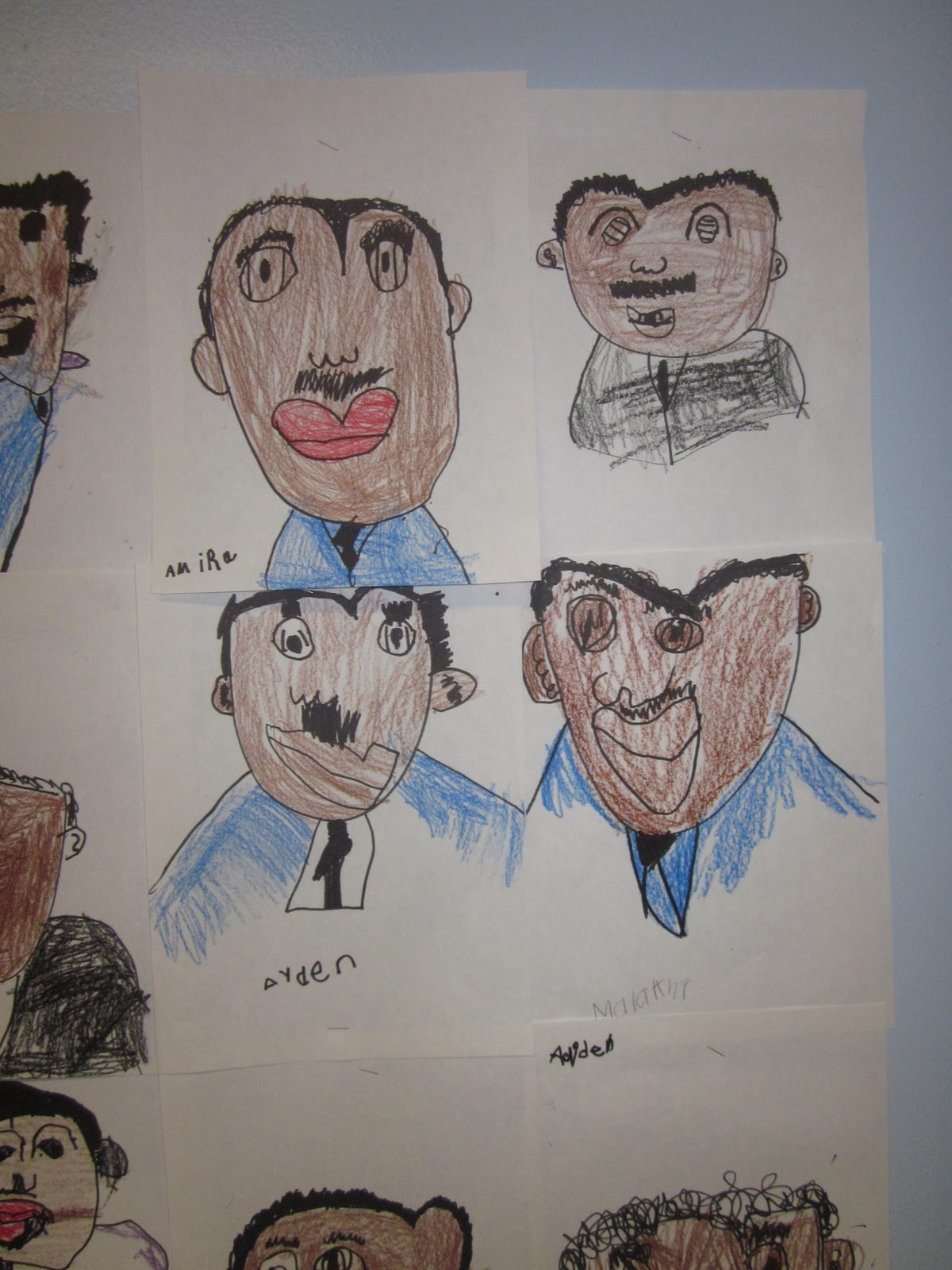 Martin Luther King Jr Directed Drawing