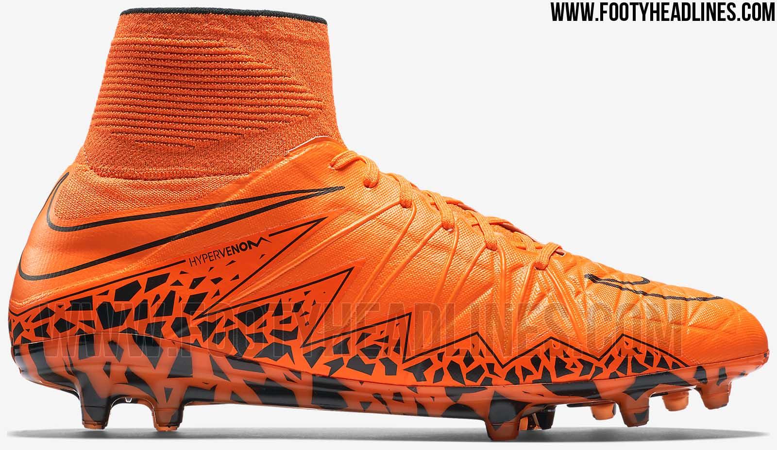 orange nike hypervenom 2 2015 boot released footy headlines