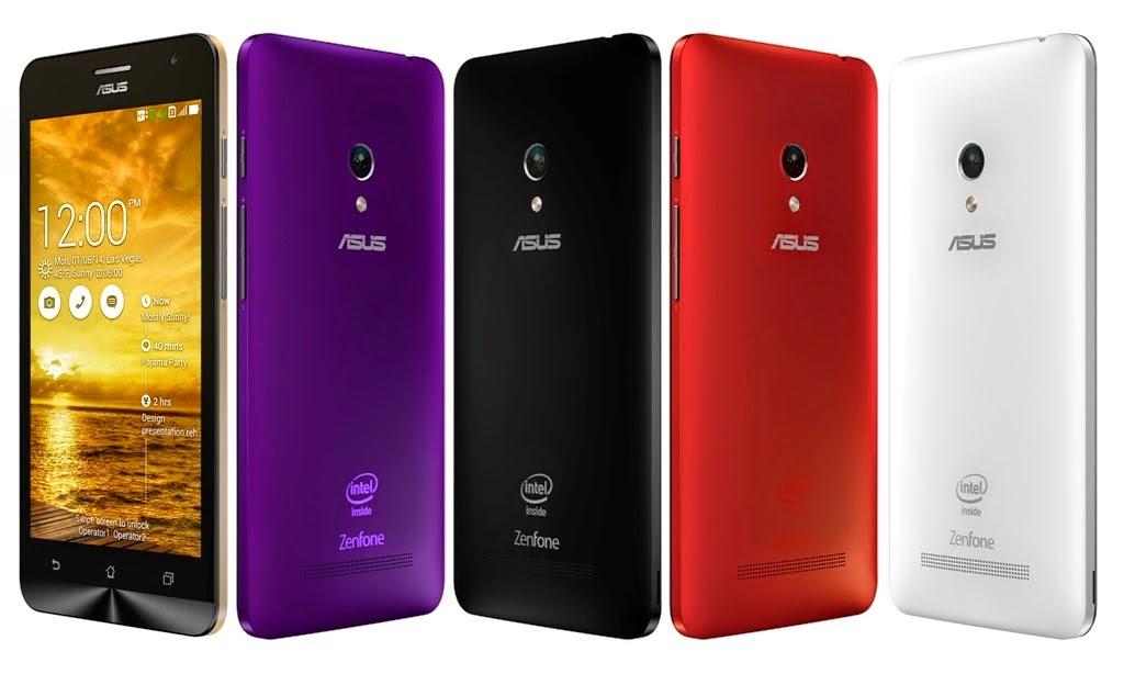 ASUS Zenfone5 Smartphone Android Terbaik