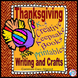 Thanksgiving and Year-Round Creative Writing & Crafts: