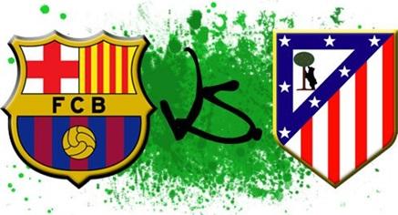 مشاهدة مباراة برشلونة و اتليتكو مدريد  كاس السوبر الاسبانى 2013