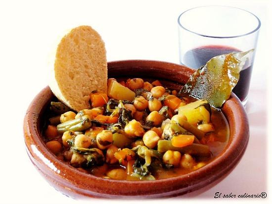 Respuestas del Test Nº 10 (cocina tradicional y regional española)