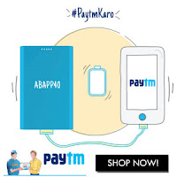 PAYTM - Power Banks Extra 40% Cashback