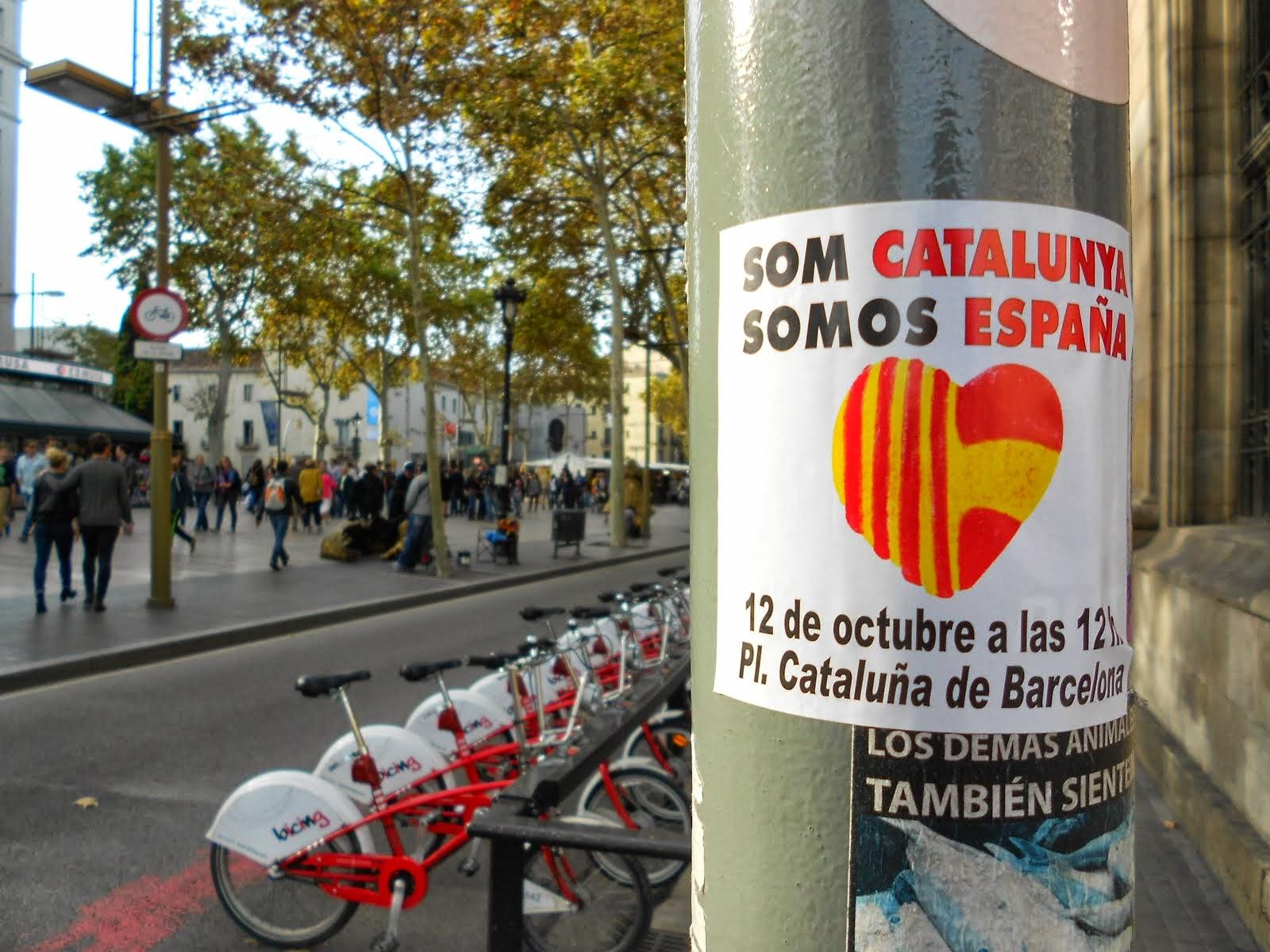Som Catalunya.Somos España.