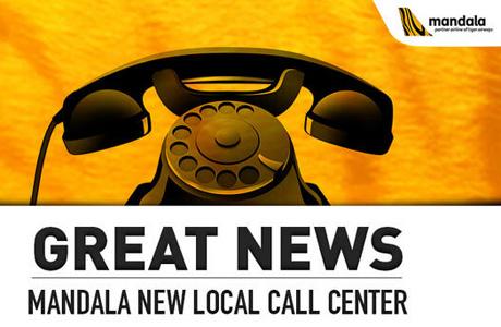 mandala luncurkan call center lokal