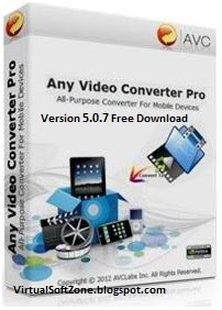 Any Video Converter Professional 5.0.7 Full Free Download